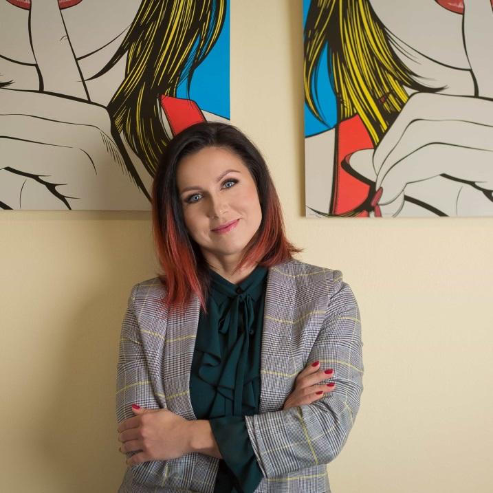 Psycholog Anna Kaźmierczyk
